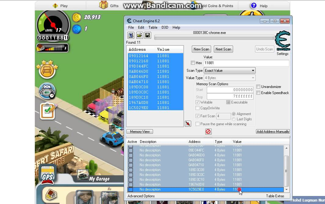 Download Car Town Cheat Tool