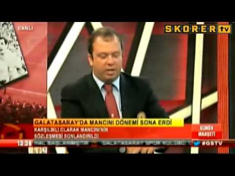 Roberto Mancini - Galatasaray'dan İstifa Etti.. (11.06.2014)
