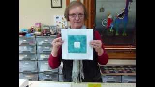 How To Make A Quilt As You Go Reversible Square Block