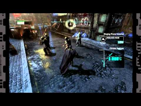 Arkham City - HD Combat Gameplay with Batman