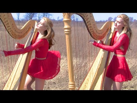 MY IMMORTAL - Evanescence (Harp Twins) Camille and Kennerly‬‬‬‬‬‬‬‬‬‬‬