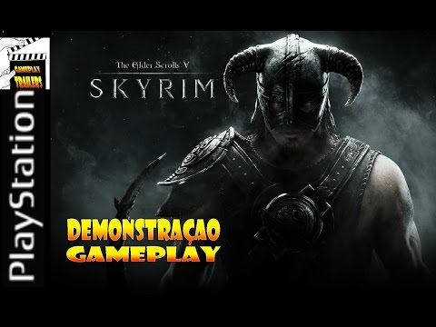 The Elder Scrolls V Skyrim - Gameplay Demonstração - Comentado Pt-Br (HD)