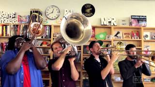 No BS! Brass Band: NPR Music Tiny Desk Concert