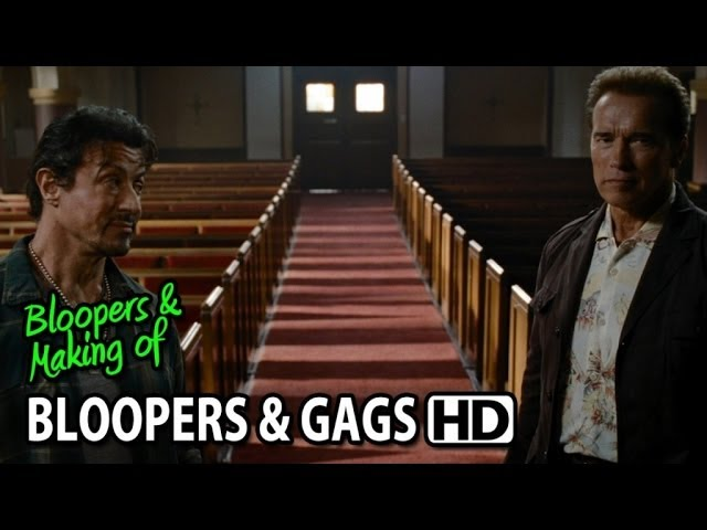 The Expendables (2010) Bloopers Outtakes Gag Reel