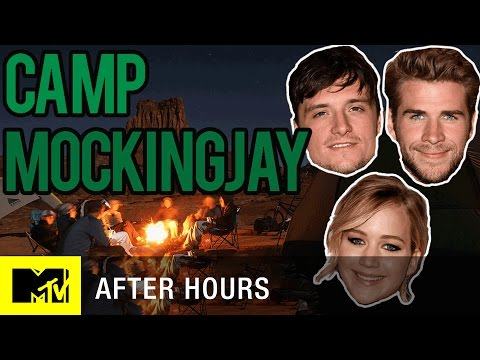 Jennifer Lawrence & the 'Mockingjay' Cast Get Crazy at Camp | After Hours | MTV News