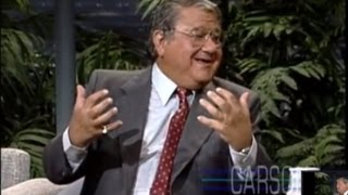 Johnny Carson: Buddy Hackett Tries to Keep His Jokes Clean