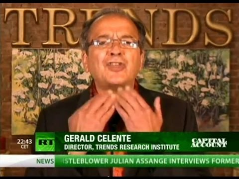 "Gerald Celente calls out Jamie ""two-bit"" Dimon and his Financial Crime Syndicate"