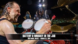 METALLICA - Battery & Whiskey in the Jar (São Paulo, Brazil)