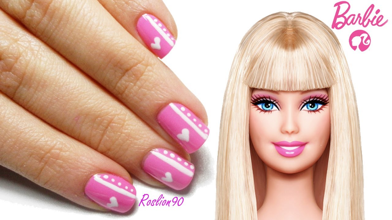 88 Barbie Nail Art Games Hello Kitty Nail Salon Apk Screenshot