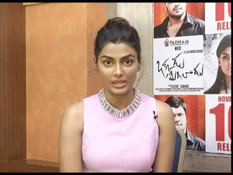 Manchu Manoj and Anisha Ambrose bites about okkadu migiladu movie