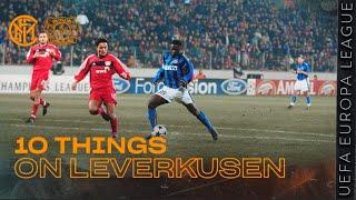 INTER vs BAYER LEVERKUSEN | 10 THINGS ON LEVERKUSEN! | UEFA EUROPA LEAGUE 2019/20 🏆⚫🔵?? [SUB ITA+ENG]