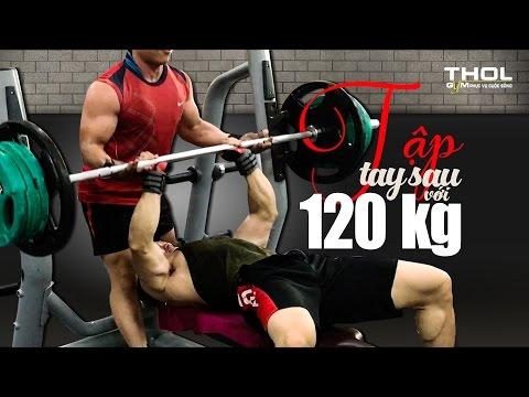 Duy Nguyễn đẩy tay sau 120kg giao lưu vui nhộn - Phong cách tập Lean Body của DN
