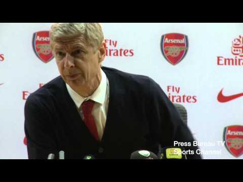 Arsene Wenger reaction Arsenal vs Newcastle
