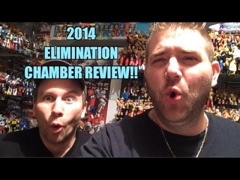 Grim's WWE ELIMINATION CHAMBER 2014 Review and Results!!