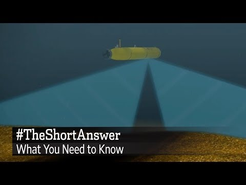 Flight 370: How the BlueFin-21 Sonar Sub Works