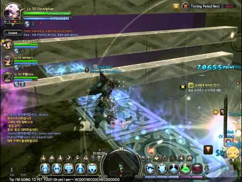Dragon Nest - Destroyer - Gigante's Nest (Blind Run)