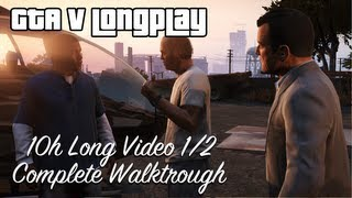GTA 5 All Missions Full Game Walkthrough Longplay 100% HD