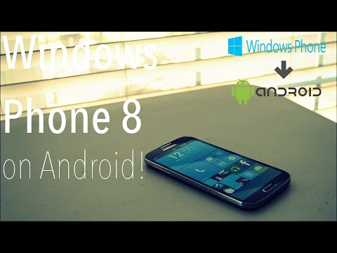 Make Android Look Like Windows Phone 8!