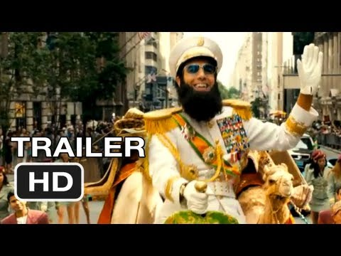 The Dictator Official Trailer #1 - Sasha Baron Cohen Movie (2012) HD