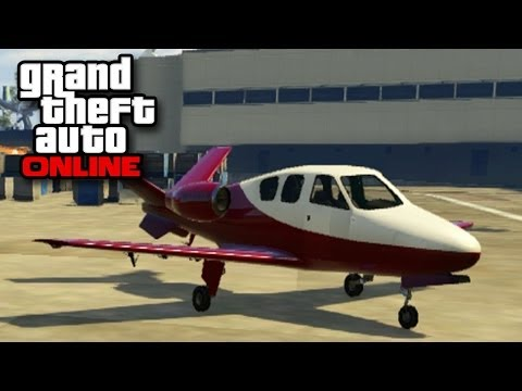 GTA Online - Vestra Jet Plane (Business Update DLC New Grand Theft Auto Multiplayer)