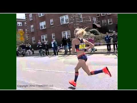 Boston Marathon 2013 Run Form - Pro Women Super Slo-mo