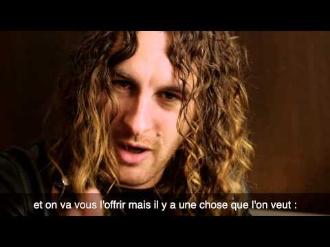 Message d'Airbourne aux fans