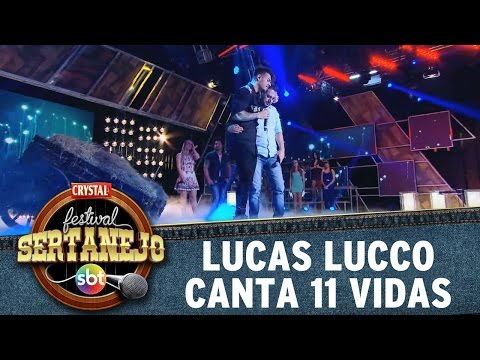 Festival Sertanejo (29/11/14) - Lucas Lucco canta 11 Vidas