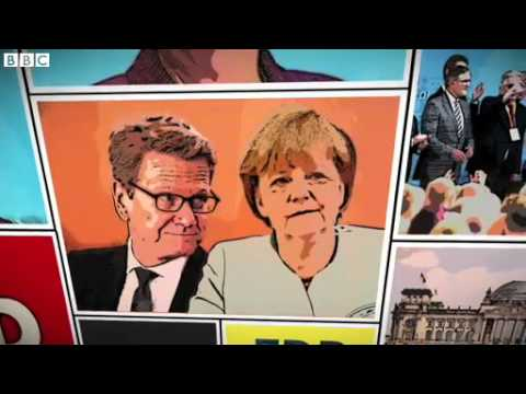 BBC News German election explained in comic book form