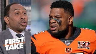 Vontaze Burfict would be perfect with the Raiders after Bengals' release - Stephen A. | First Take