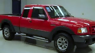 2008 Ford Ranger SUPERCAB-SHORT-FX4 OFFROAD-CD PLAYER-4WD - videos