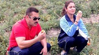 Watch : Salman Khan & Anushka Sharma Eating RAW Tomatoes