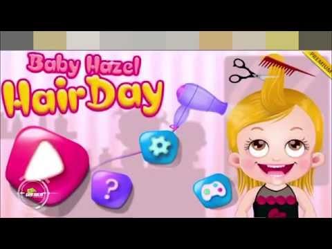 [Games trẻ em] Baby Hazel - Em bé làm tóc xinh xắn
