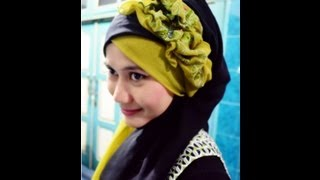 Tutorial Hijab Pesta Dan Wisuda Hijab Paris By