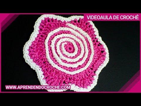 Flor De Croche Hipnose 1   Parte Add To Ej Playlist Video Aula Uma