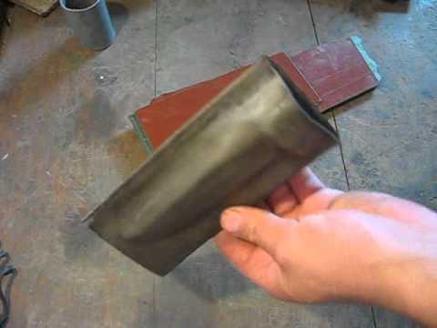 Изготовление ножен для ножа