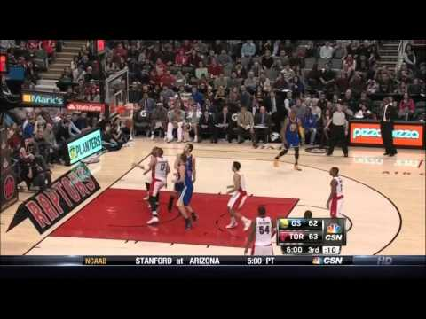 Stephen Curry ( 34 PTS ) vs. Raptors (3-2-2014)
