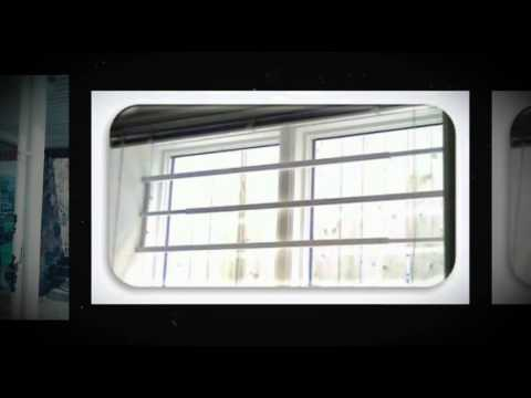 window security bars youtube