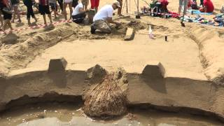 Time Lapse International Sandcastle Competition 2013 Billy Budds Team