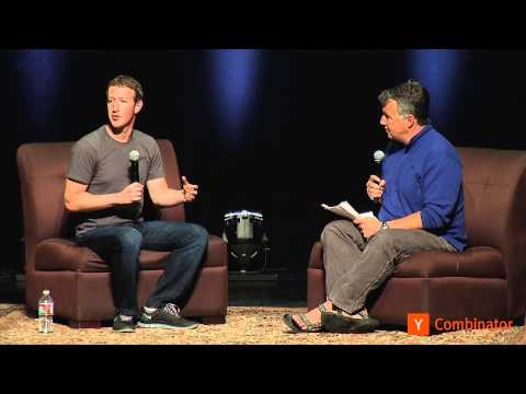Mark Zuckerberg at Startup School 2013