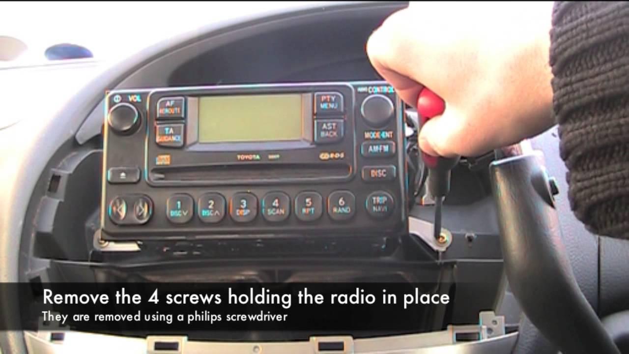 Toyota Previa  Estima Radio Blown Fuse