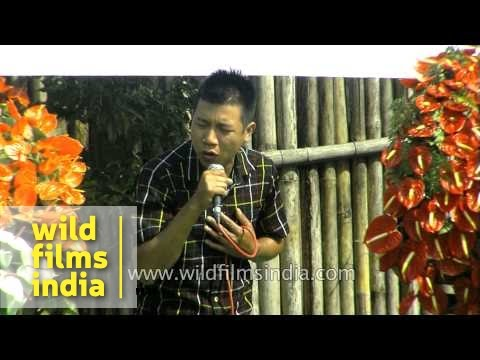Love song by Mizo male singer