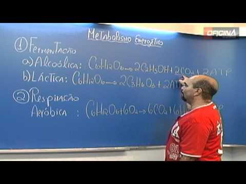 Dica de Biologia - Metabolismo Energético