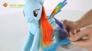 My Little Pony Skacząca Rainbow Dash Mówi Po Polsku