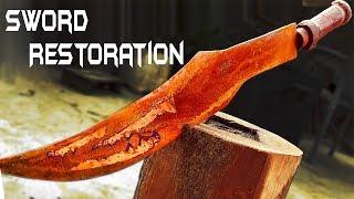 Rusted GREEK SWORD - Impossible RESTORATION