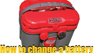 How To Change A Car Battery (Optima Red Top)