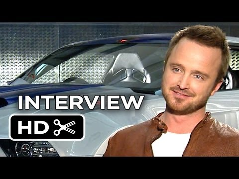 Need For Speed Interview - Aaron Paul (2014) - Racing Movie HD