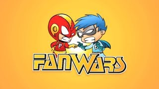 Stan Lee & Jace Hall Introduce FanWars -- Fans Debate The Great Comic Book Questions