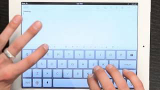 How To Bold & Underline On Notepad For The IPad : Tech