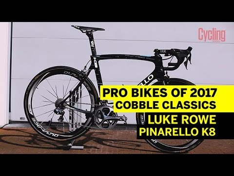 Pro Bikes of 2017: Luke Rowe's Pinarello K8 | Cycling Weekly