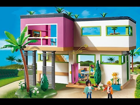 Playmobil 2015 city life haus maison moderne luxusvilla for Wohnzimmer 5584